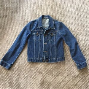 Earl Jeans vintage style jean jacket sz small P